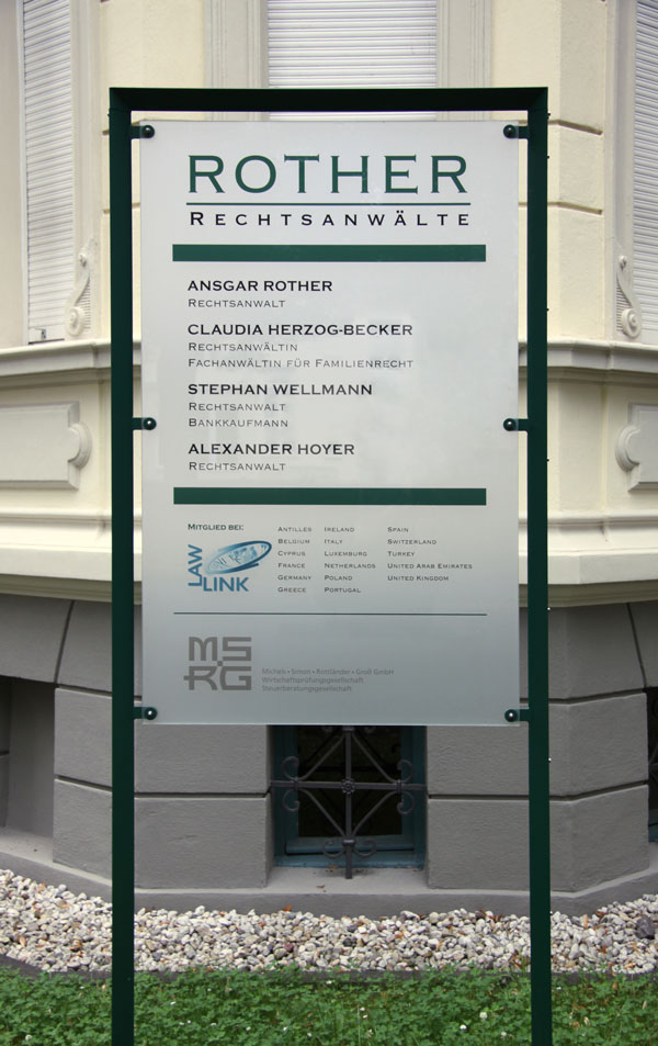 [Translate to English:] Kanzlei Rother Königsplatz Bonn Bad-Godesberg